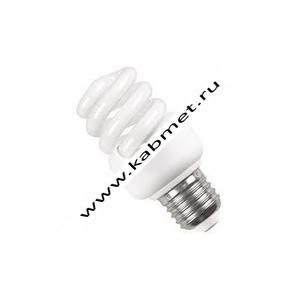 Лампа энергосберегающая спираль КЭЛ-FS Е27 30Вт 4000К ИЭК